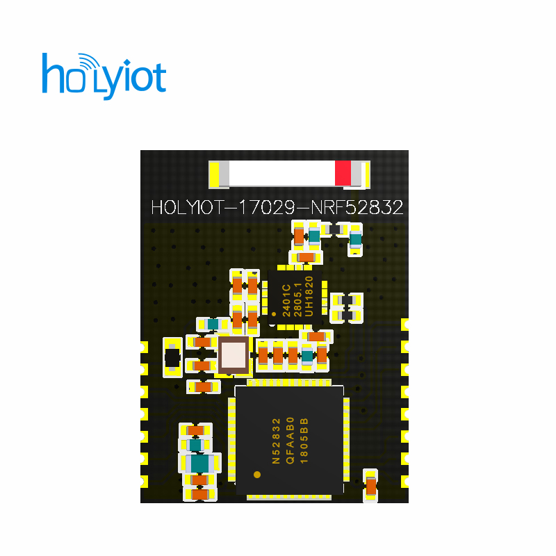 long distance ibeacon nRF52832 module ibeacon PA (power amplification) BLE5.0, 2.4Ghz